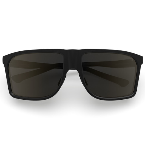 Kall Black- Polarized brown lens
